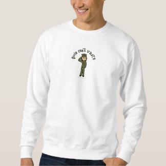 Militärmädchen - Licht Sweatshirt
