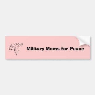 Militärmammen für Frieden Autoaufkleber