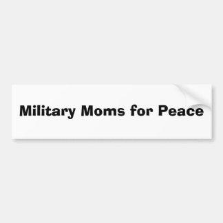 Militärmammen für Frieden Auto Sticker