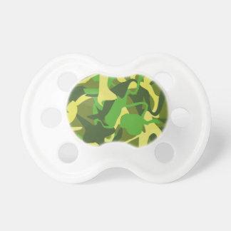 Militärnatur-Camouflage-mutiges buntes Muster Schnuller