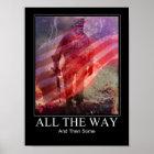 Militärplakat Poster