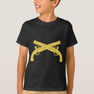 Militärpolizei-Insignien - gekreuzte Pistolen T-Shirt