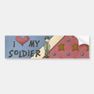 Militärsammlungs-Armee-Soldat-Autoaufkleber Autoaufkleber
