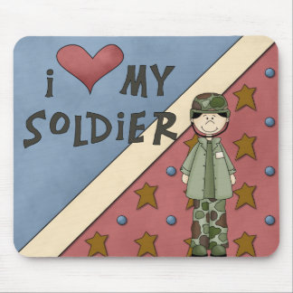 Militärsammlungs-Armee-Soldat-Mann Mousepad
