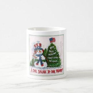 MilitärweihnachtsTasse Tasse