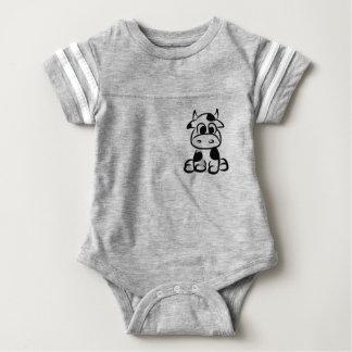 Milkaholic Baby-Kuh-Jersey-Bodysuit Baby Strampler