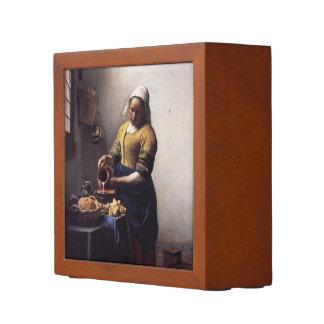 Milkmaid durch Johannes Vermeer Stifthalter