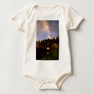 Milky_Way_Wings Baby Strampler