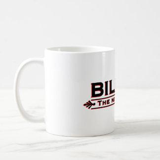 Milliarde das neue Million (Schwarzes und Rot) Kaffeetasse