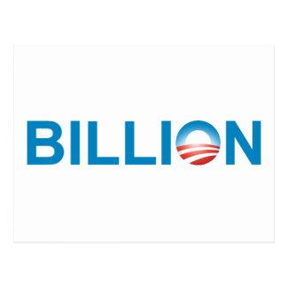Milliarde Postkarte