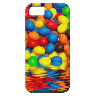 Millimeter-Schokoladen-Süßigkeiten iPhone 5 Hülle