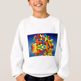 Millimeter-Schokoladen-Süßigkeiten Sweatshirt