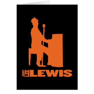 Million Dollar-Quartett Lewis Grußkarte