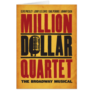 Million Dollar-Quartett-Logo Karte