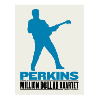 Million Dollar-Quartett Perkins Postkarte