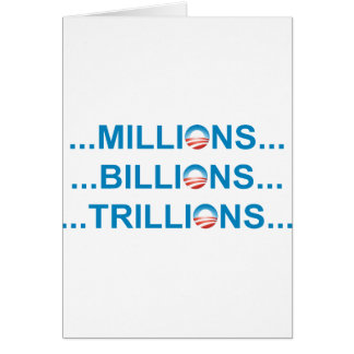 MILLION MILLIARDE TRILLION KARTE