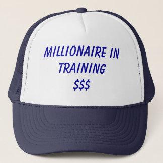 Millionär in Training Truckerkappe