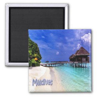 Millivolt - Malediven - Malediven Quadratischer Magnet
