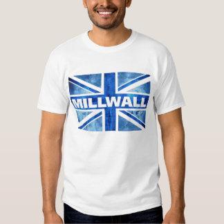 MILLWALL Gewerkschafts-Jack T Shirt