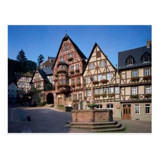 Miltenberg Stadt, Deutschland Postkarte