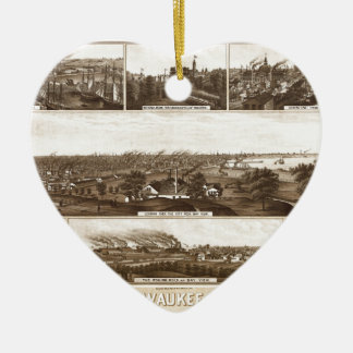 milwaukee1882 keramik ornament