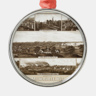 milwaukee1882 silbernes ornament