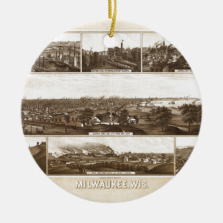 Milwaukee 1882 keramik ornament