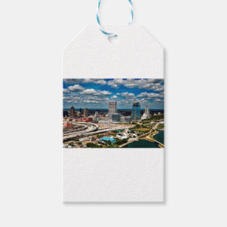 Milwaukee-Skyline Geschenkanhänger