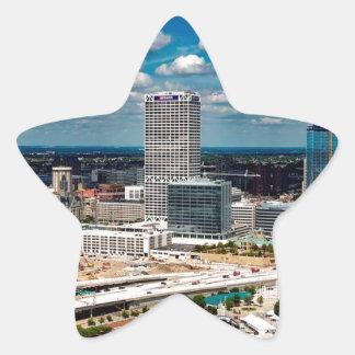 Milwaukee-Skyline Stern-Aufkleber