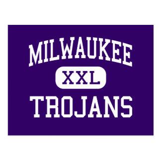Milwaukee - Trojan - Handel - Milwaukee Wisconsin Postkarte