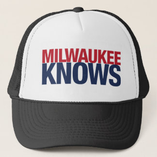 Milwaukee weiß truckerkappe
