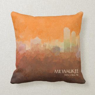 Milwaukee, Wisconson Skyline-in den Wolken Kissen