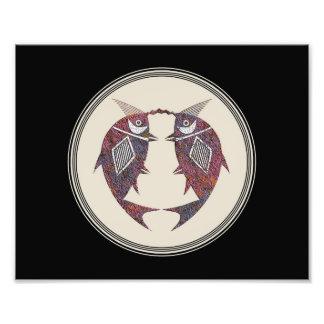 Mimbres Tonwaren-Entwurf Fotodruck