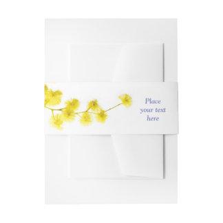 Mimose Einladungsbanderole