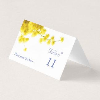 Mimose Platzkarte
