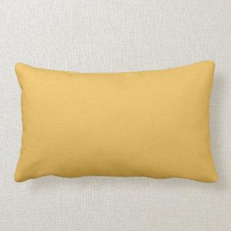 Mimosen-(gelbe) Farbe Lendenkissen