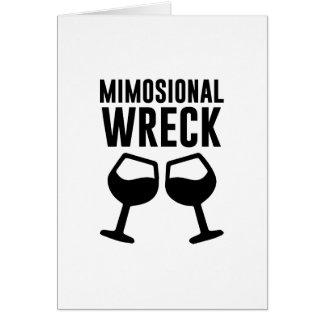 Mimosional Wrack Karte