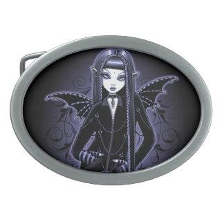 Mina-gotischer blauer Vampirs-feenhafte Ovale Gürtelschnallen