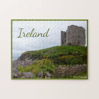 Minard Schloss-Ruinen mit Text Puzzle