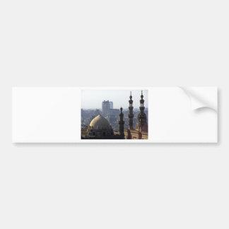 Minarette Ausblick von Sultan-Ali-Moschee Kairo Autoaufkleber
