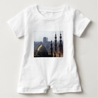 Minarette Ausblick von Sultan-Ali-Moschee Kairo Baby Strampler