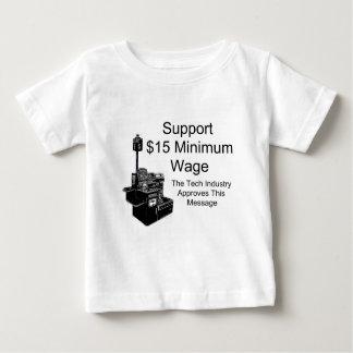 Mindestlohn $15 hemden