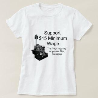 Mindestlohn $15 T-Shirt