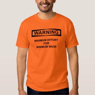 Mindestlohn A Tshirts