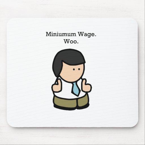 Mindestlohn-Arbeitskraft Mousepad
