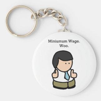 Mindestlohn-Arbeitskraft Schlüsselband