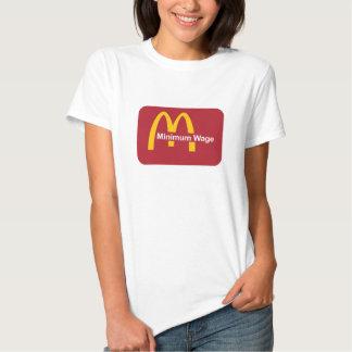 Mindestlohn Mc-Lohn Tshirt