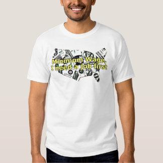 Mindestlohn-T-Shirt T Shirt