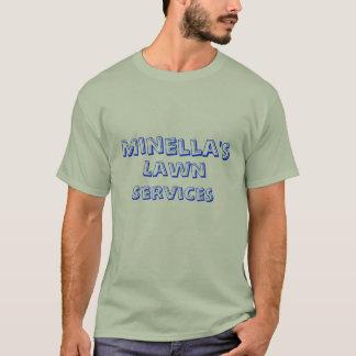 Minellas, Rasens, Dienstleistungen T-Shirt