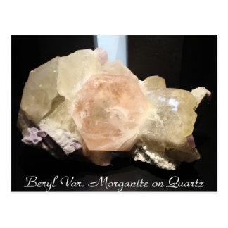 Mineralien u. Edelsteine # 85 Postkarte